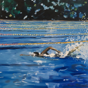 Swimming - 'Australian Crawl' by Meredith Howse