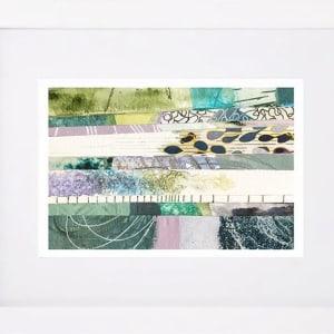 Ocean Hues One by Kathy Ferguson