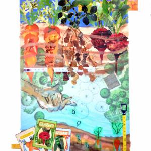 Garden Harvest by Kathy Ferguson