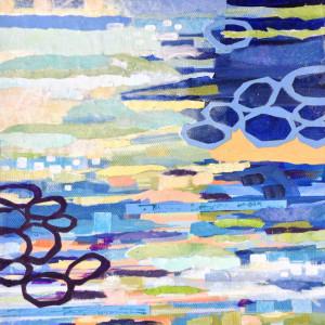 Linked Loops, Cool by Kathy Ferguson
