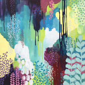Jewel Forest One by Kathy Ferguson