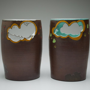 Cloud Cutout Basket  (left)