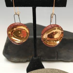 Thumbprint Ear Dangle Bling