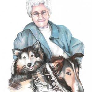 Family Pet Portrait by Sonja Petersen