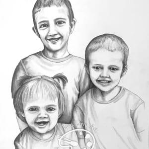 Herbert Family portrait by Sonja Petersen