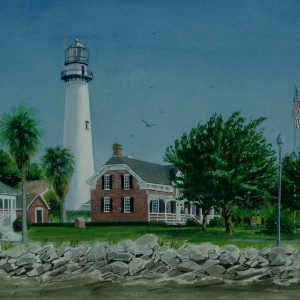 St Simon's Lighthouse, Georgia