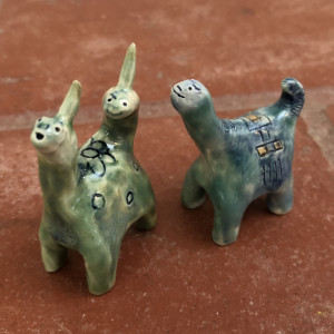 Mini critters - available individually :-) by Nell Eakin