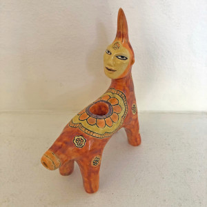 Tangerine, a Flower Power Critter pipe