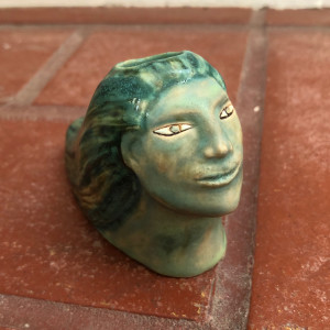 The Turquoise Lady Pipe