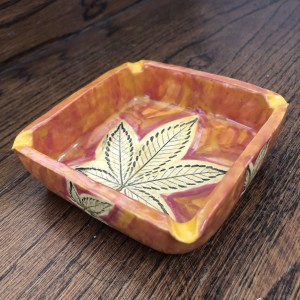 Orange power 5 leaf tray