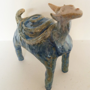 Tamara the spiral backed unicorn turtle by Nell Eakin