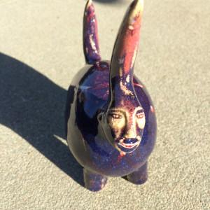 Purple Ray the Hidden Flower by Nell Eakin