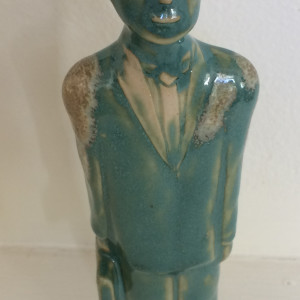 The man in turquoise by Nell Eakin