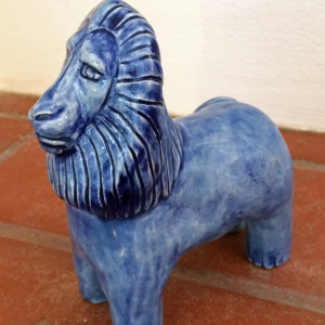 Cobalt the Lion by Nell Eakin