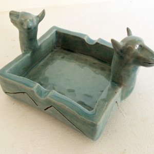 Double Dog Dish by Nell Eakin