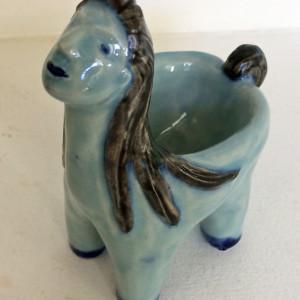 Blue lady box by Nell Eakin