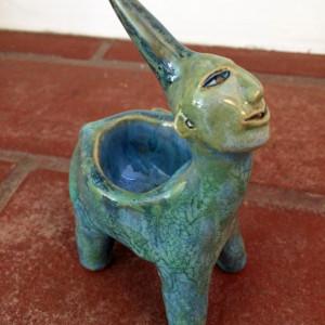 Solimar the mini-unicorn wish dish by Nell Eakin
