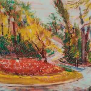 Autumn at Key Circle by Miriam McClung