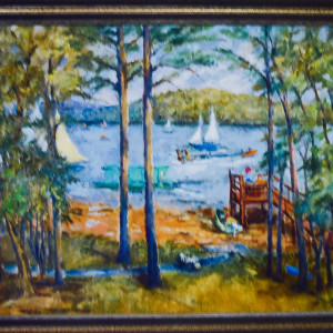 At the Lake by Miriam McClung