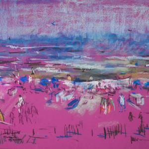 Beach Study by Miriam McClung
