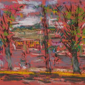 Street View - Crestline, AL by Miriam McClung