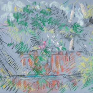 Backyard by Miriam McClung