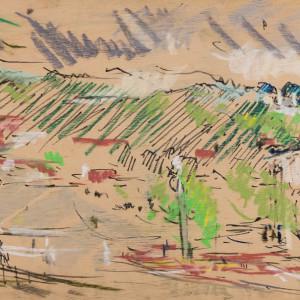 01005.1993.crestline village.pastel.board.12x48.web