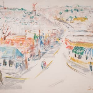 On the Curve in Homewood, Alabama by Miriam McClung