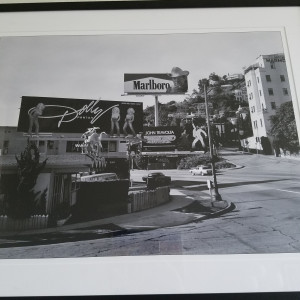 Photo - Sunset Blvd 1977 - signed 1/9 by Robert  Zuckerman