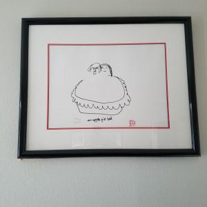 Apple Pie Bed - estate signed litho by John Lennon