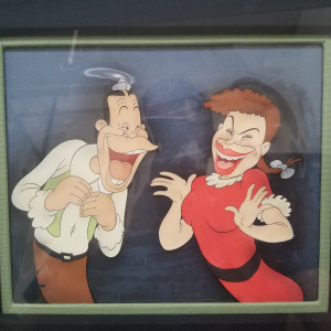 Mother Goose Goes Hollywood - cel by Disney Animation