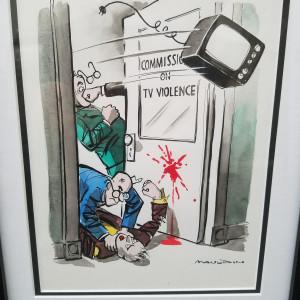 TV Guide illustration by Bill Mauldin