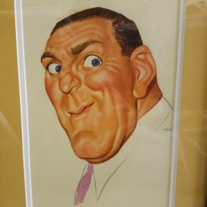 William Bendix by Dal  Holcomb