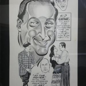 Sid Caesar by Murray Olderman