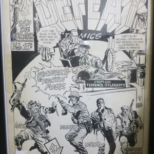 Defeat Comics -  National Lampoon #17 by Frank Springer