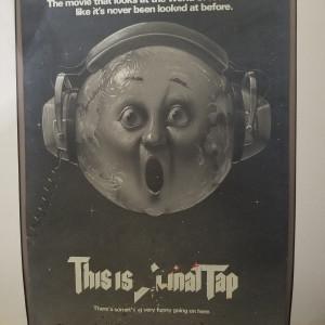 Spinal Tap ad mockup
