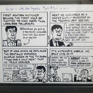 2.5 Men cartoon by Ted Rail