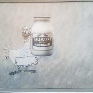 Hellmanns Mayyonaise commercial prod cel & bg