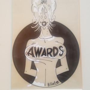 Kurtzman Awards illustration by Harvey  Kurtzman
