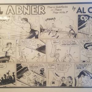 Li'l Abner Sunday page (1960) by Al Capp