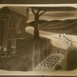 New Yorker cartoon by Charles Addams