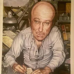 Harvey Kurtzman s/n litho by Drew Friedman