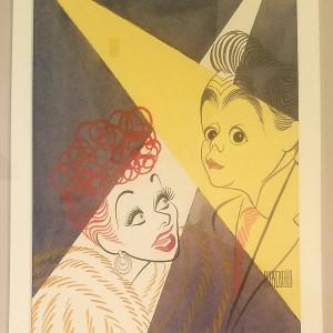 Lucy Desi watercolor by Al Hirschfeld