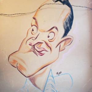 Bob Hope Prelim drawing by Sam Berman