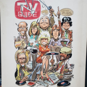 TV Guide cover by Jack  Davis