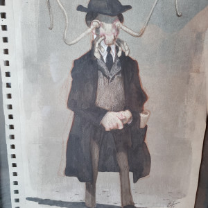 Kafka - Metamorphosis sketch by Unknown