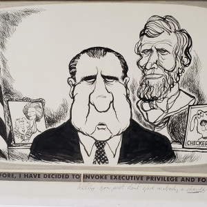 """""""Executive Privilege"""" by Oliphant"""