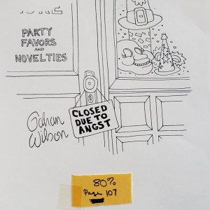 Closed due to Angst by Gahan Wilson