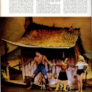 Li'l Abner LIFE Magazine illustration (1957) by Al Capp