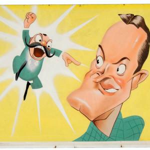 Jerry Colonna & Bob Hope - NBC Parade of Stars (1947) by Sam Berman